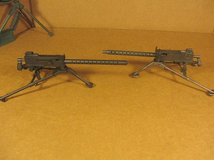 Reverse Hollow Hold M1917 and M1919A4 Mach...